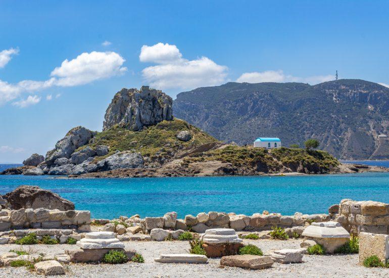Kastri Island in Kos