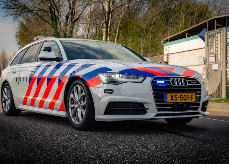 Nieuwe Audi van de Politie