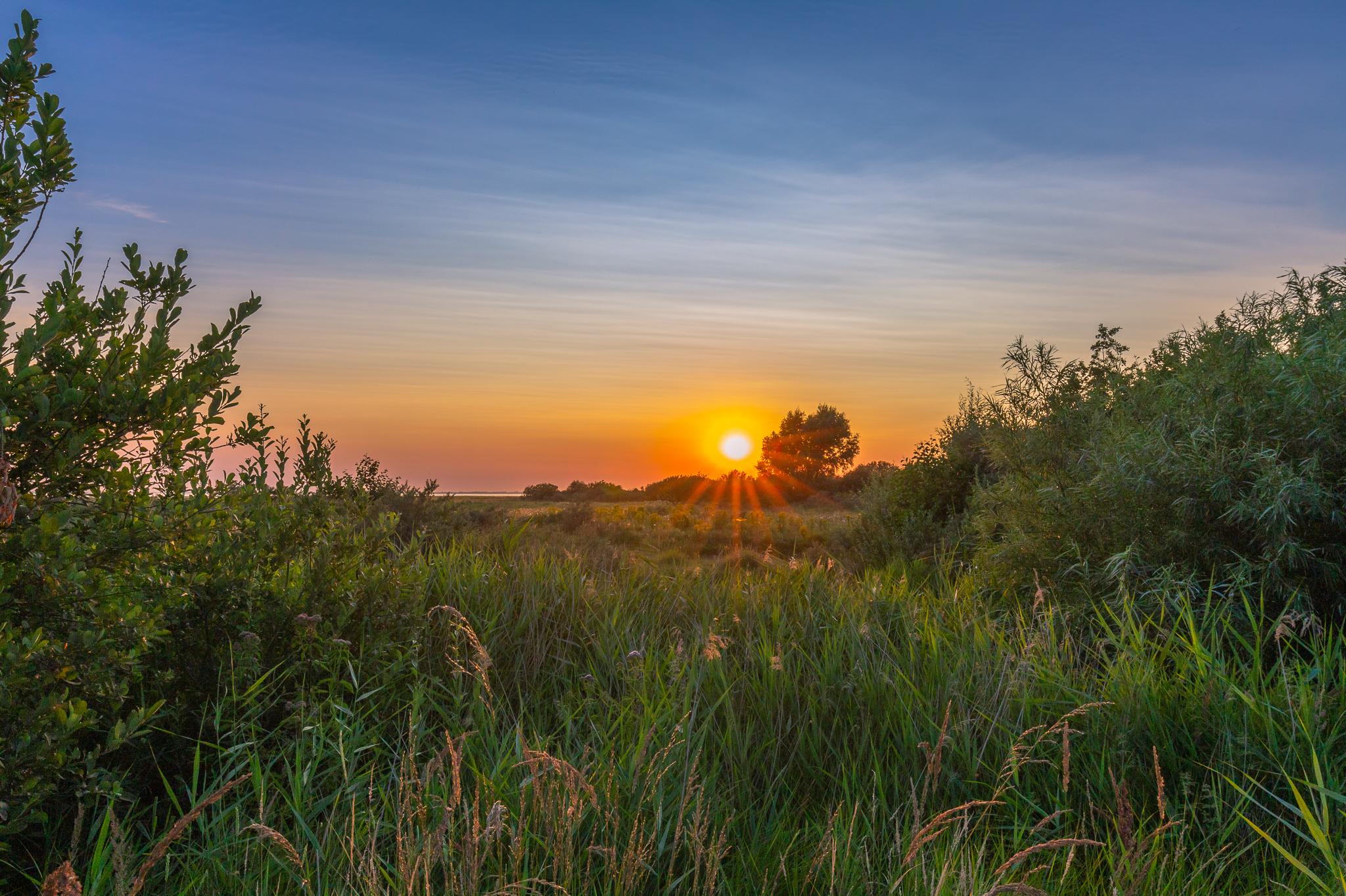 Zonsondergang Slikken van Flakkee