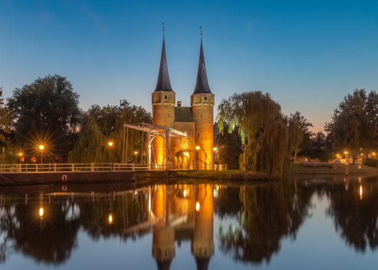 De Oostpoort in Delft