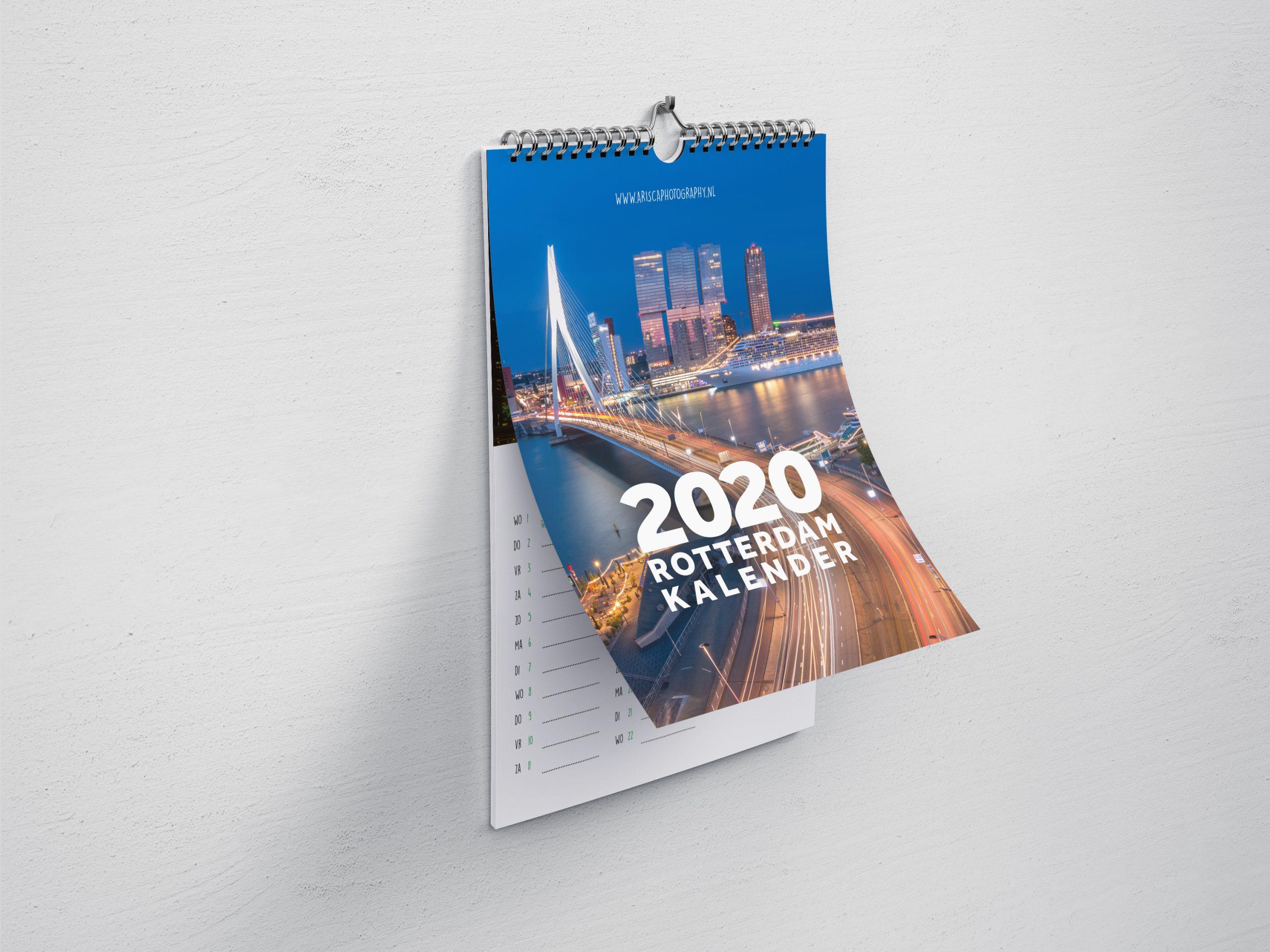 Rotterdam Kalender 2020 voorkant