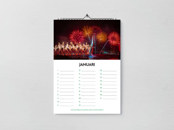 Maand Januari - Verjaardagskalender Rotterdam editie 2020