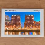 Doos puzzel - Het blauwe uurtje aan de Levie Vorstkade (Rotterdam)