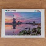 Puzzel zonsopkomst Kinderdijk - 1.000 stukjes