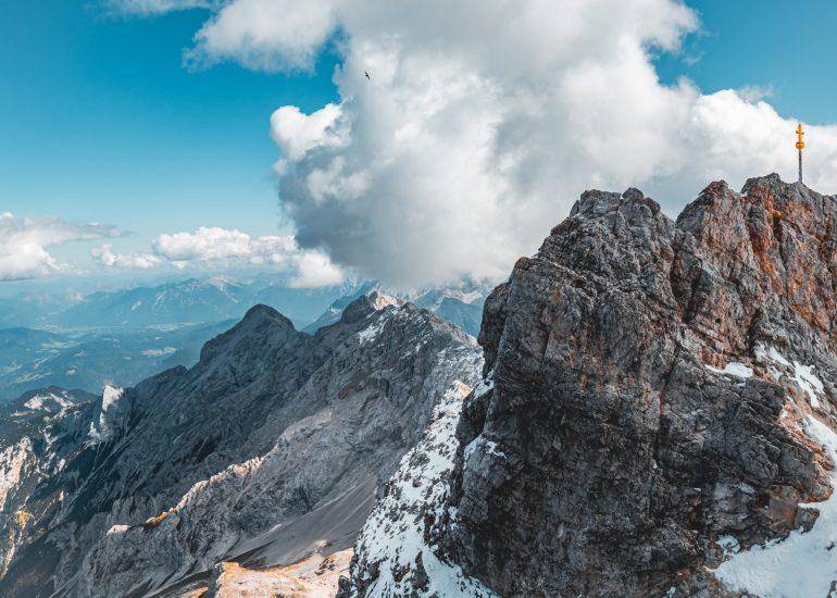 In de bergen - Zugspitze