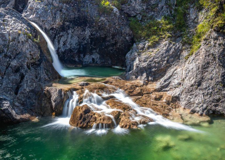 Waterval Stuibenfälle, Planseeablauf in Oostenrijk